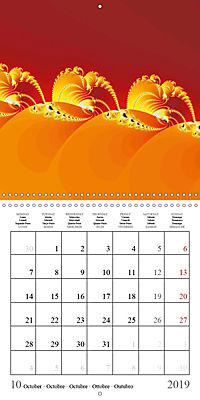 Esthetic Chaos Rosy Dawn (Wall Calendar 2019 300 × 300 mm Square) - Produktdetailbild 10