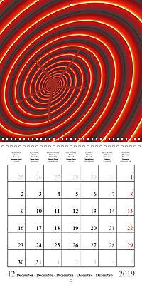 Esthetic Chaos Rosy Dawn (Wall Calendar 2019 300 × 300 mm Square) - Produktdetailbild 12