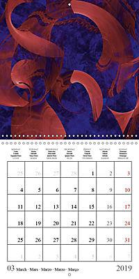 Esthetic Chaos Transformations (Wall Calendar 2019 300 × 300 mm Square) - Produktdetailbild 3