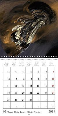 Esthetic Chaos Transformations (Wall Calendar 2019 300 × 300 mm Square) - Produktdetailbild 2
