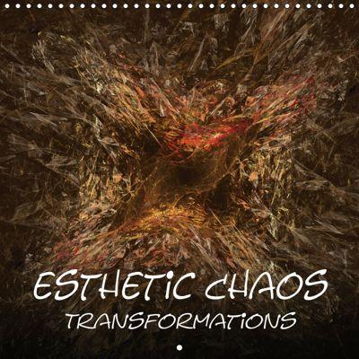 Esthetic Chaos Transformations (Wall Calendar 2019 300 × 300 mm Square), Sven-Erik Sonntag