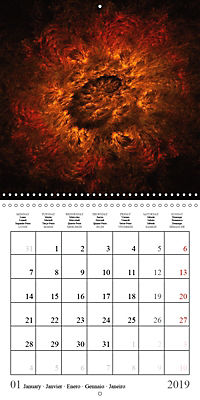 Esthetic Chaos Transformations (Wall Calendar 2019 300 × 300 mm Square) - Produktdetailbild 1