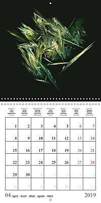 Esthetic Chaos Transformations (Wall Calendar 2019 300 × 300 mm Square) - Produktdetailbild 4