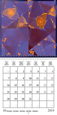 Esthetic Chaos Transformations (Wall Calendar 2019 300 × 300 mm Square) - Produktdetailbild 10