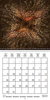 Esthetic Chaos Transformations (Wall Calendar 2019 300 × 300 mm Square) - Produktdetailbild 12