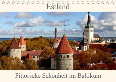 Estland - Pittoreske Schönheit im Baltikum (Tischkalender 2019 DIN A5 quer), Bernd Becker