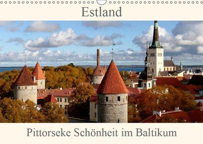 Estland - Pittoreske Schönheit im Baltikum (Wandkalender 2019 DIN A3 quer), Bernd Becker