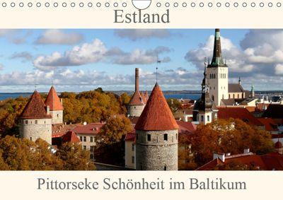 Estland - Pittoreske Schönheit im Baltikum (Wandkalender 2019 DIN A4 quer), Bernd Becker