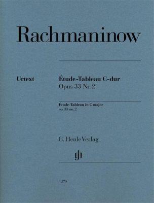 Étude-Tableau C-dur op. 33, 2, SERGEJ RACHMANINOW
