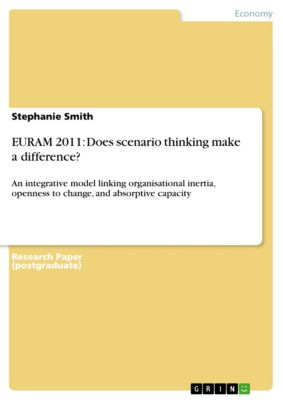 EURAM 2011: Does scenario thinking make a difference?, Stephanie Smith