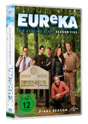 EUReKA: Die geheime Stadt - Season 5, Sally Richardson-Whitfield Colin Ferguson