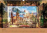 Europa Foto-Kunst Collagen (Wandkalender 2019 DIN A3 quer) - Produktdetailbild 7