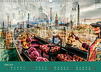 Europa Foto-Kunst Collagen (Wandkalender 2019 DIN A3 quer) - Produktdetailbild 6