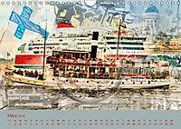 Europa Foto-Kunst Collagen (Wandkalender 2019 DIN A4 quer) - Produktdetailbild 3