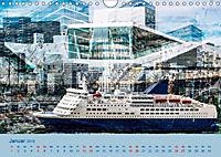 Europa Foto-Kunst Collagen (Wandkalender 2019 DIN A4 quer) - Produktdetailbild 1