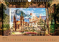 Europa Foto-Kunst Collagen (Wandkalender 2019 DIN A4 quer) - Produktdetailbild 7