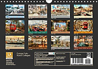 Europa Foto-Kunst Collagen (Wandkalender 2019 DIN A4 quer) - Produktdetailbild 13