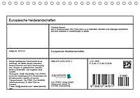 Europäische Heidelandschaften (Tischkalender 2019 DIN A5 quer) - Produktdetailbild 13