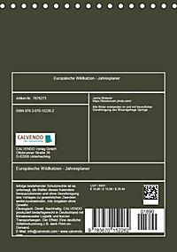 Europäische Wildkatzen - Jahresplaner (Tischkalender 2019 DIN A5 hoch) - Produktdetailbild 13