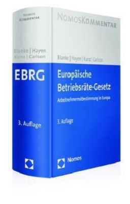 Europäisches Betriebsräte-Gesetz (EBRG), Kommentar, Thomas Blanke