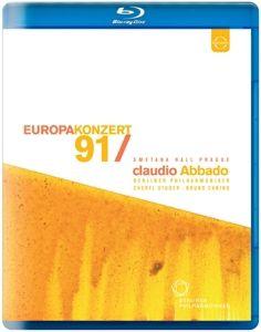 Europakonzert 1991 Prag, Studer, Canino, Abbado, Bp