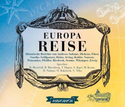 Europareise, 8 Audio-CDs
