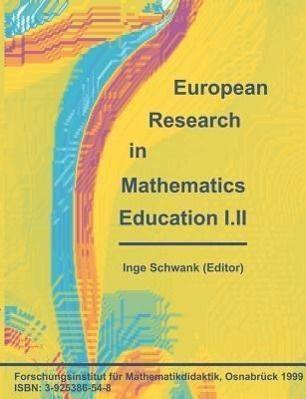 European Research in Mathematics Education I.II, Inge Schwank