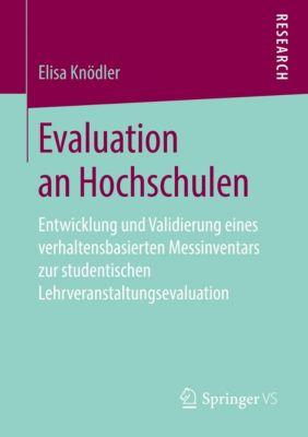 Evaluation an Hochschulen - Elisa Knödler |