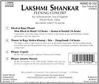 Evening Concert/L.Shankar - Produktdetailbild 1