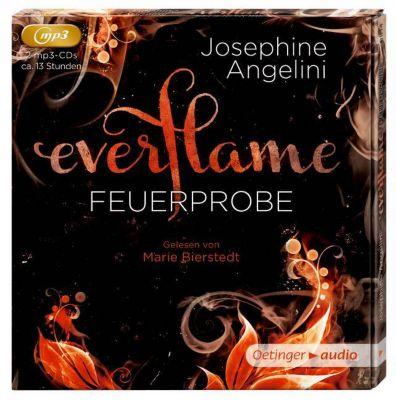 Everflame - Feuerprobe, 2 MP3-CDs, Josephine Angelini