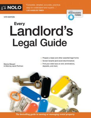 Every Landlord's Legal Guide, Janet Portman, Marcia Stewart