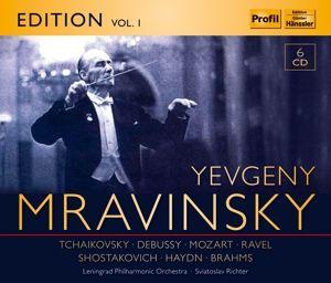 Evgeny Mravinsky - Brahms:piano concerto No.2.Richter,Leningrad PO;Mravinsky