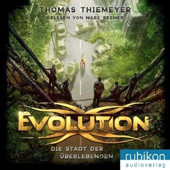 Evolution - Die Stadt der Überlebenden, MP3-CD, Thomas Thiemeyer