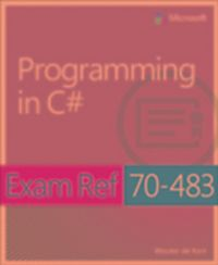Exam ref 70-487 developing windows azure and web services