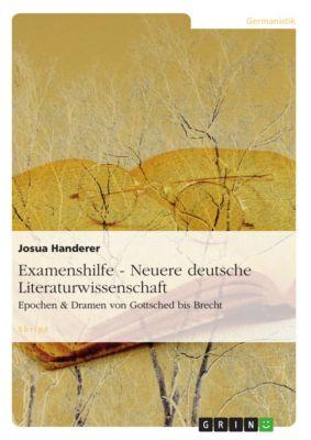 Examenshilfe - Neuere deutsche Literaturwissenschaft, Josua Handerer
