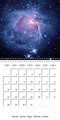 Exciting Universe (Wall Calendar 2019 300 × 300 mm Square) - Produktdetailbild 1
