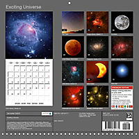 Exciting Universe (Wall Calendar 2019 300 × 300 mm Square) - Produktdetailbild 13