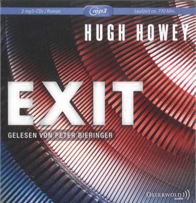 Exit, 2 mp3-CDs, Hugh Howey