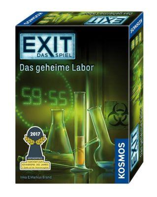 Exit - Das Spiel, Das geheime Labor (Spiel), Inka Brand, Markus Brand