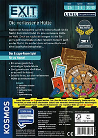 Exit - Das Spiel, Die verlassene Hütte (Spiel) - Produktdetailbild 2