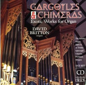 Exotic Works For Organ, David Britton