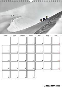 EXPLORING ALPS (Wall Calendar 2019 DIN A3 Portrait) - Produktdetailbild 1