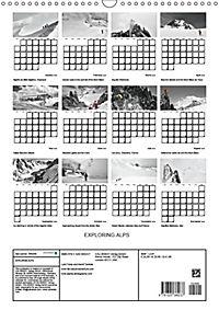 EXPLORING ALPS (Wall Calendar 2019 DIN A3 Portrait) - Produktdetailbild 13