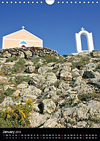 Exploring Santorini (Wall Calendar 2019 DIN A4 Portrait) - Produktdetailbild 1