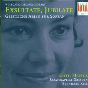 Exsultate,Jubilate-Geistliche Arien Für Sopran, Edith Mathis, Bernhard Klee, Staatskapelle Dresden
