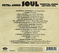 Extra Added Soul: Crossover,Modern And Funky Soul - Produktdetailbild 1