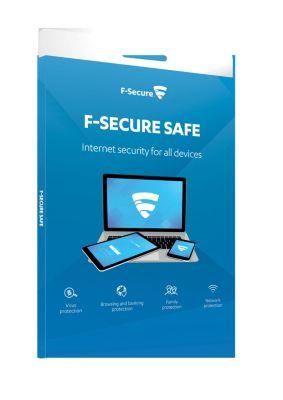 F-Secure SAFE Internet Security 2017 (3D-1Y)