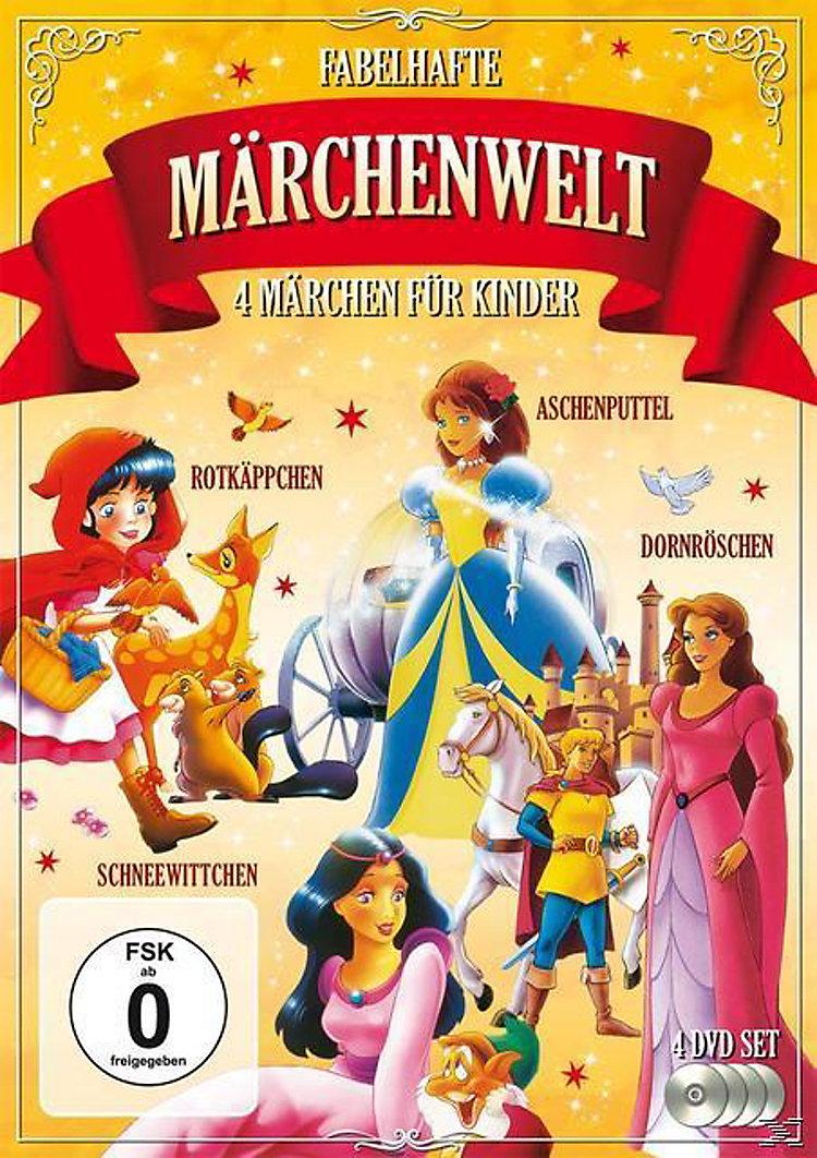Fabelhafte Märchenwelt 4 Märchen für Kinder DVD-Box Film