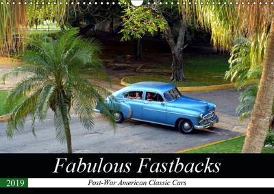 Fabulous Fastbacks (Wall Calendar 2019 DIN A3 Landscape), Henning von Löwis of Menar