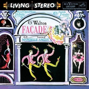 Facade-Suittes For Orchestra/Mamzelle Angot-Su, Covent Garden Royal Opera House Orchestra, Fistoula